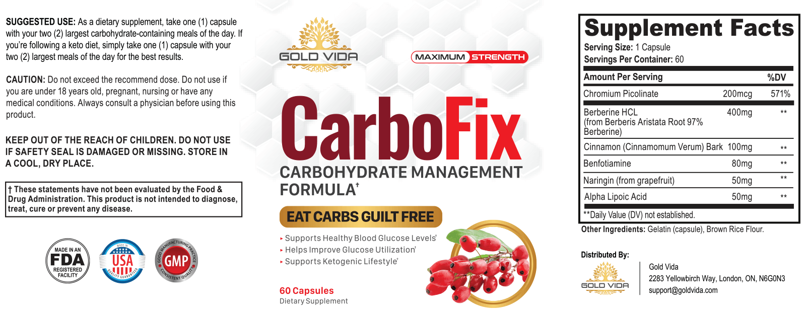 Plant - CarboFix - Best Fat Burning Metabolism Shocking Product on the Market